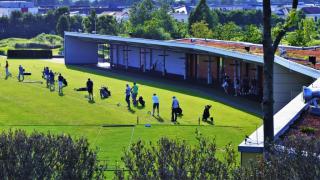 """Das Trainingsareal der """"Kölner Golfschule"""" 98"""
